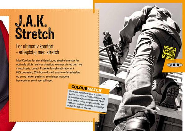 Arbejdstøj Stretch serie