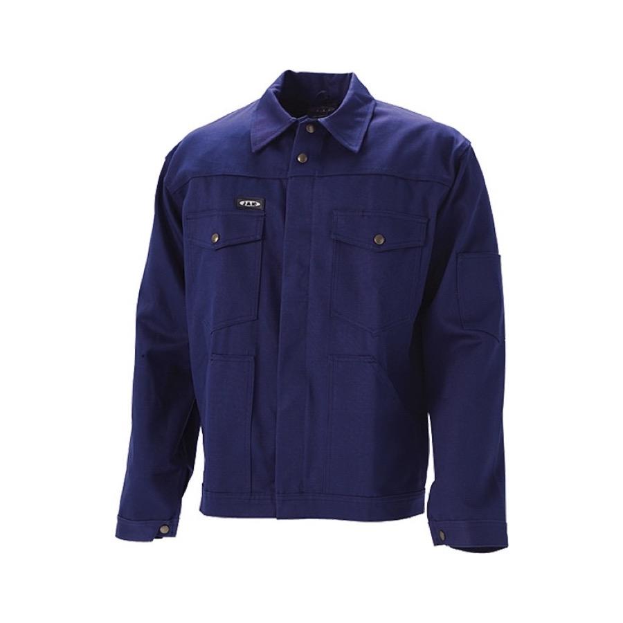 Ensfarvet arbejdstøj - Arbejdsjakke i Marine